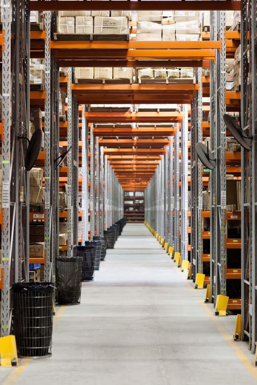 Italian distributor warehouse