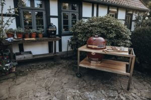 grill in ceramica kamado monolith